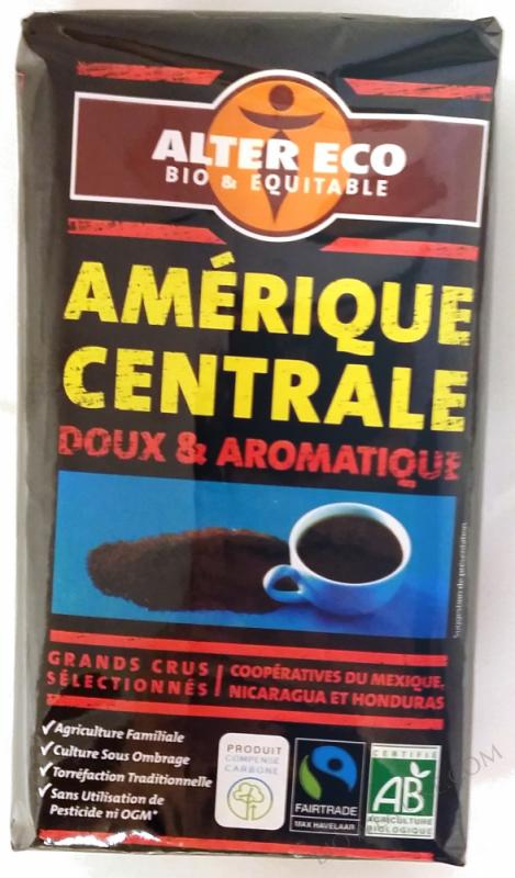 CAFE BLEND AMERIQUE CENTRALE BIO 250G