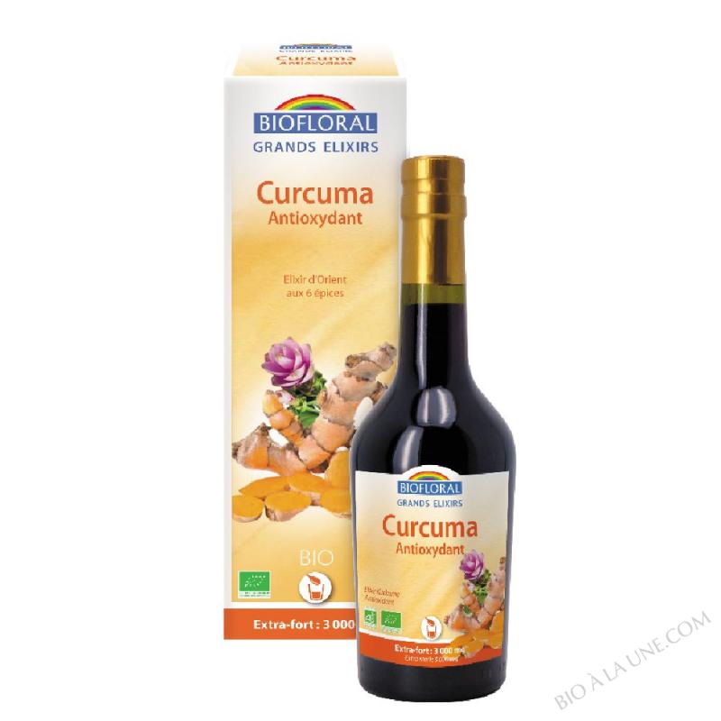 Curcuma - Elixir d'Orient BIO - 375 ml
