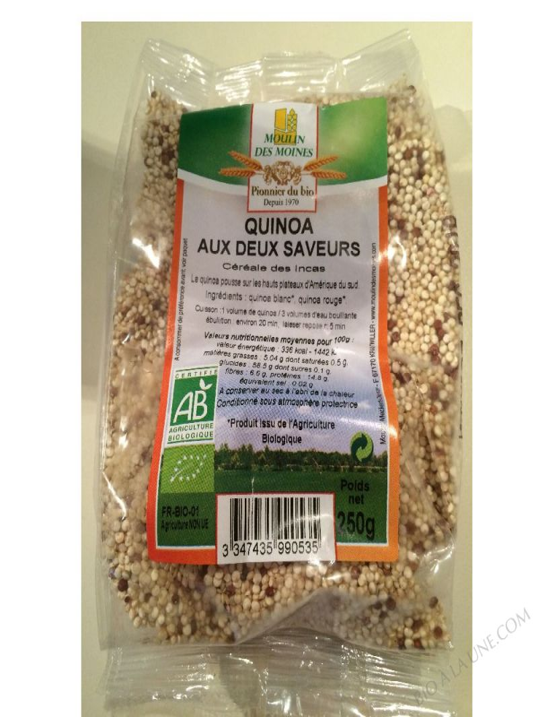 Quinoa 2 saveurs - 250g
