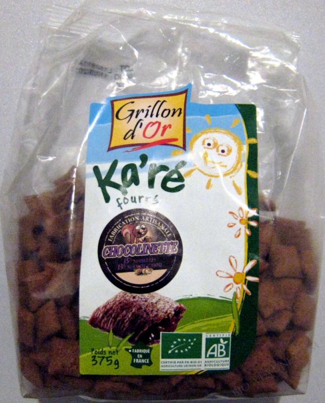 Cereales Ka're fourre Chocolinette+ 375g