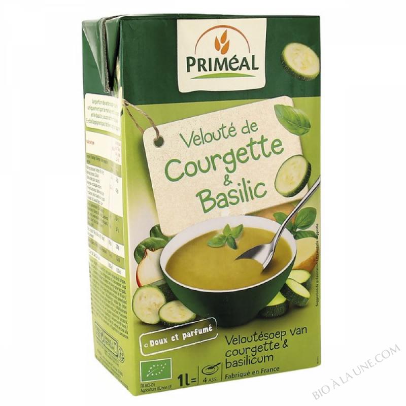 Veloute courgette & basilic 1L