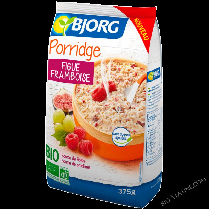 Porridge figue framboise - 375 g