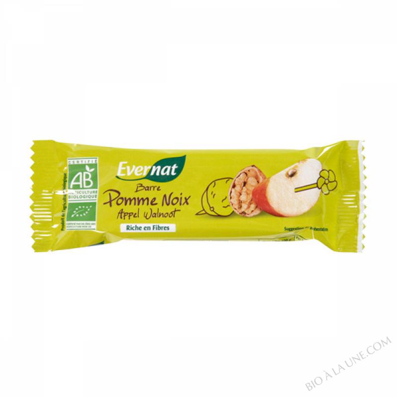 Barre Pomme noix 40g