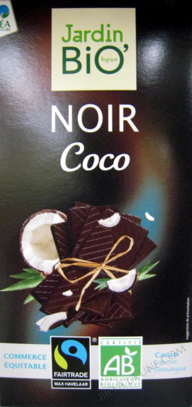 Chocolat Noir Coco - 100 g