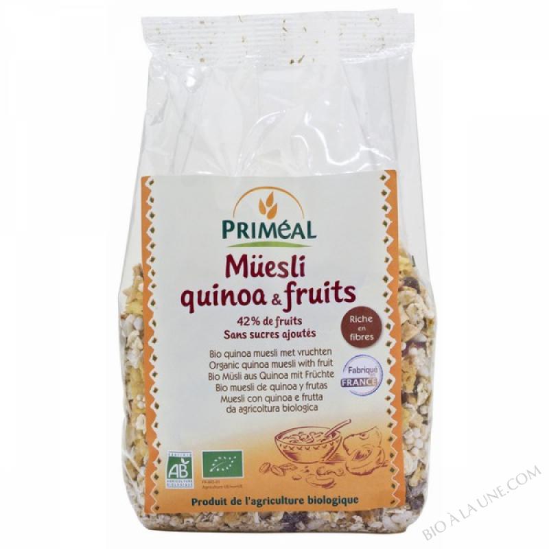 Muesli Quinoa & Fruits 350 g