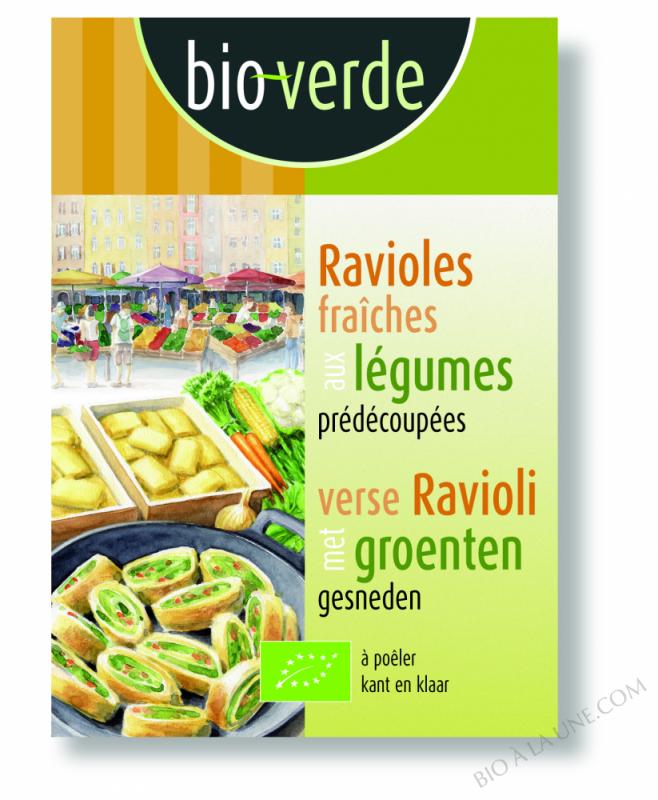 Ravioli aux légumes - 250 g