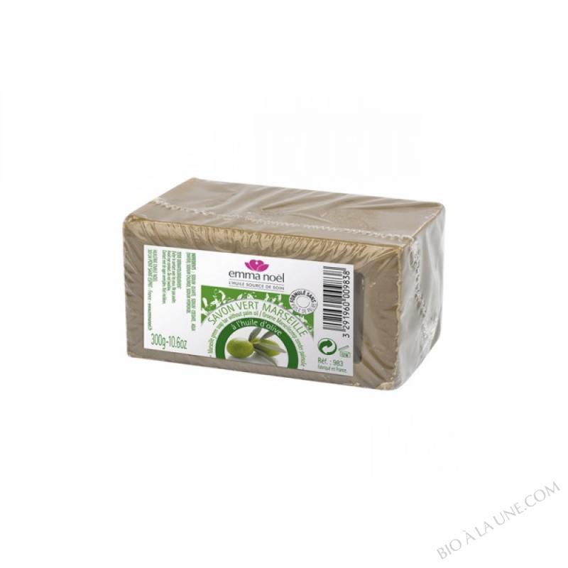 Savon vert sans huile de palme - 300g