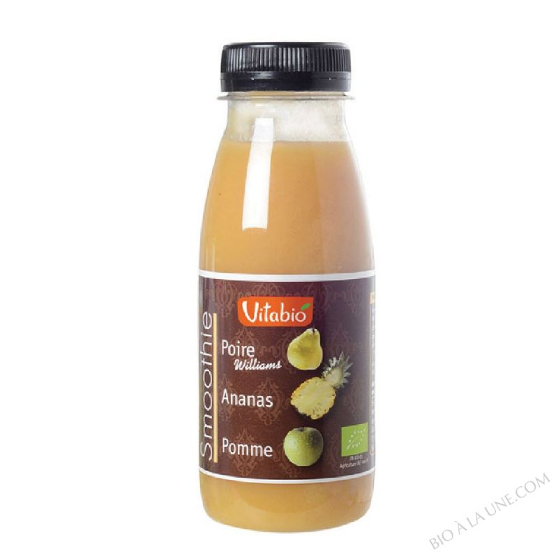 Smoothie Poire Ananas bio 25cl
