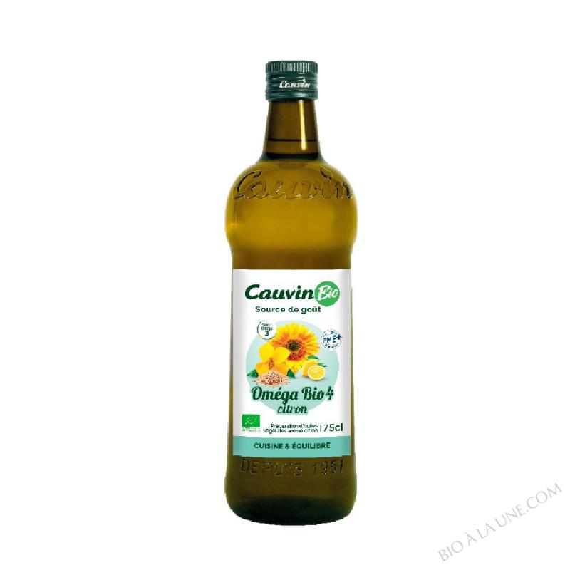 Huile oméga bio 4 Citron - 75 cl