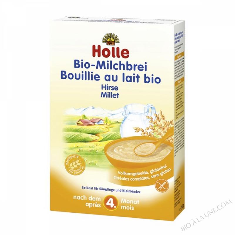 Bouillie au lait et au millet