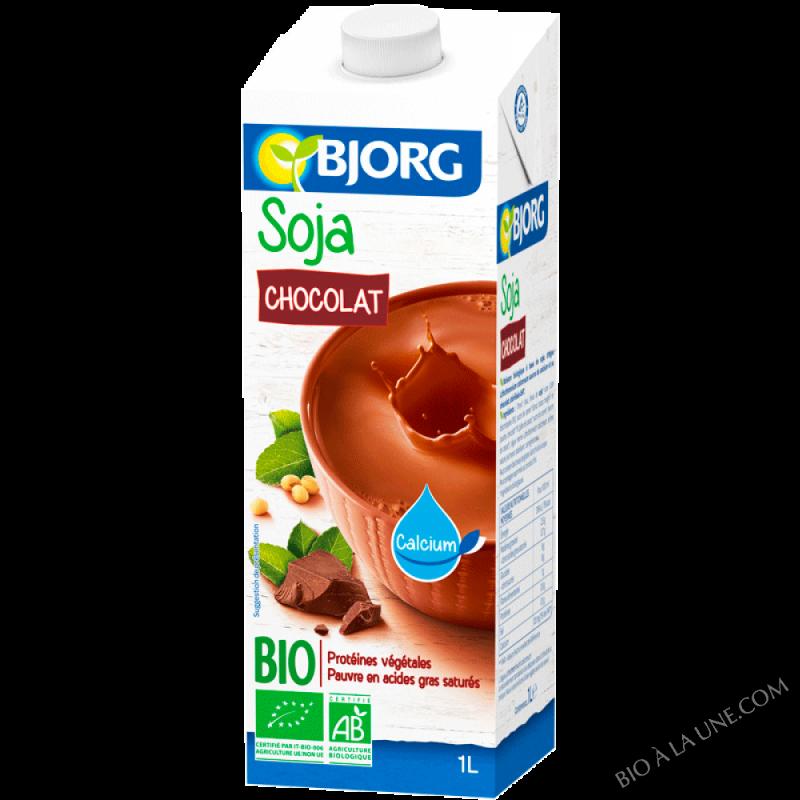 Boisson vegetale soja chocolat 1l