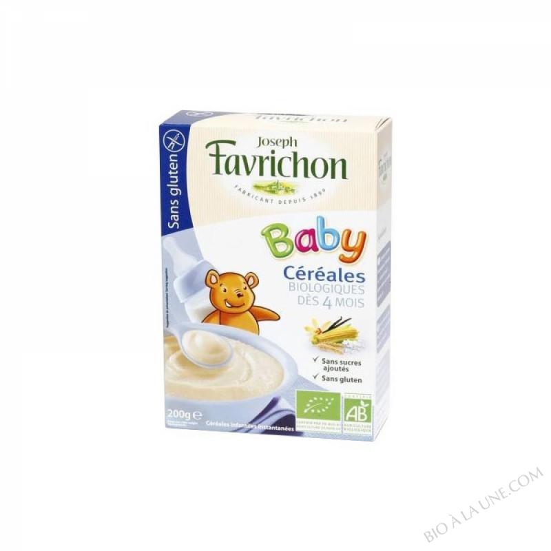 J.Favrichon Céréales baby sans gluten étui petit modèle