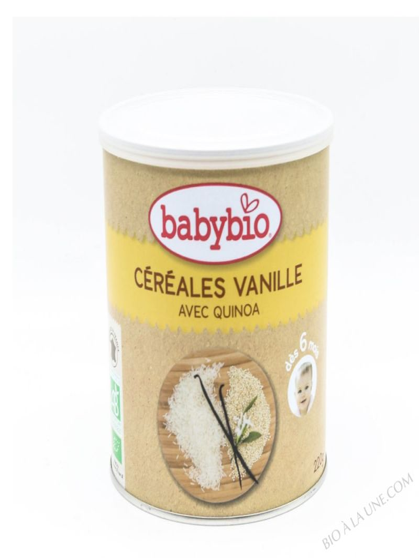 Cereales Vanille quinoa des 6 mois