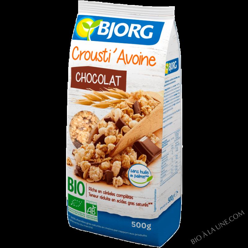 Crousti' avoine chocolat 500g