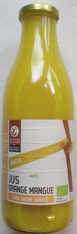 Jus Orange Mangue- 1 L