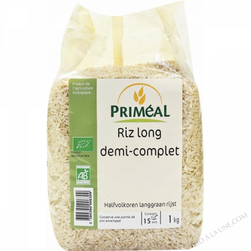 Riz Long Demi Complet 1 kg
