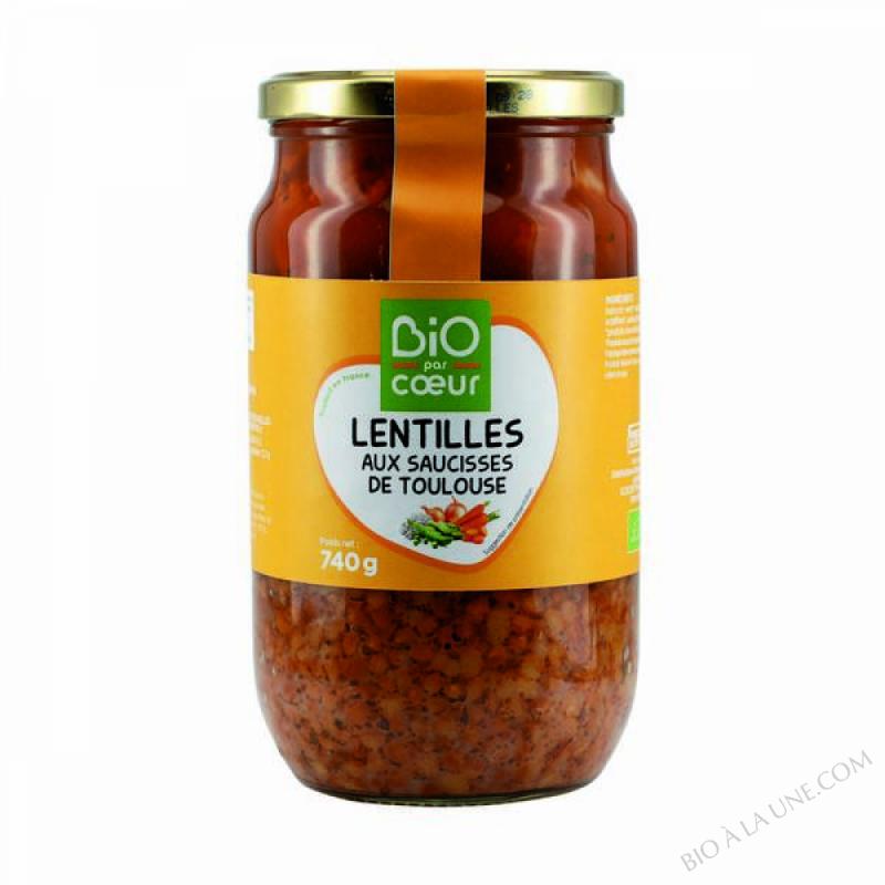 LENTILLES ET SAUCISSES - 740 G