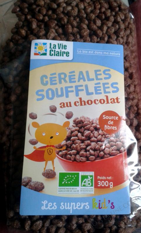 Céréale Soufflées Au Chocolal- 300 g