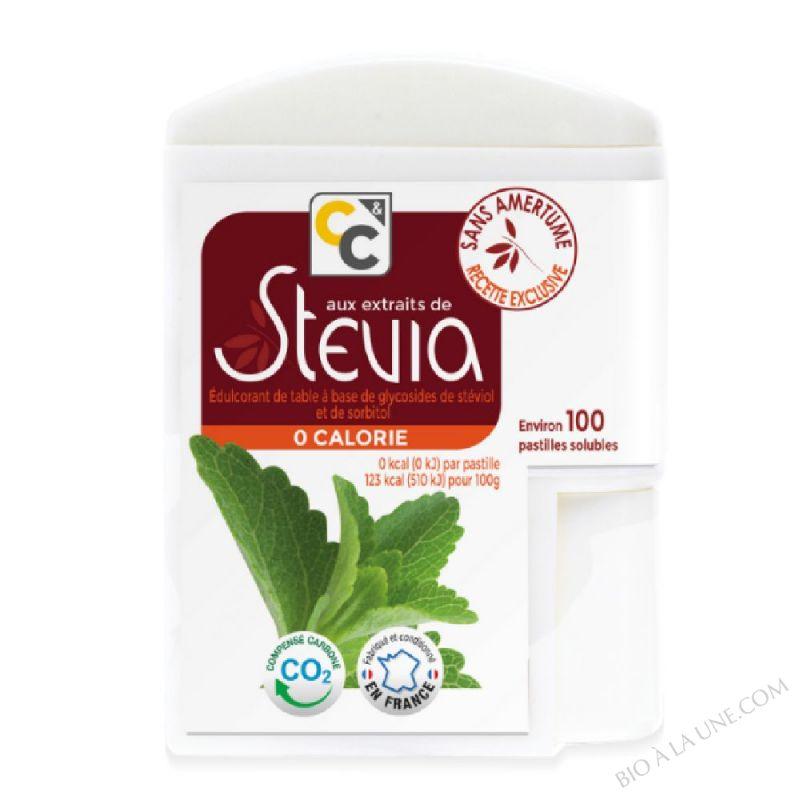 Distributeur 100 pastilles de stevia