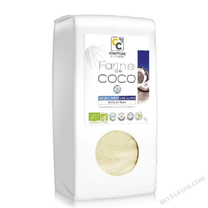 Farine de coco - 1kg