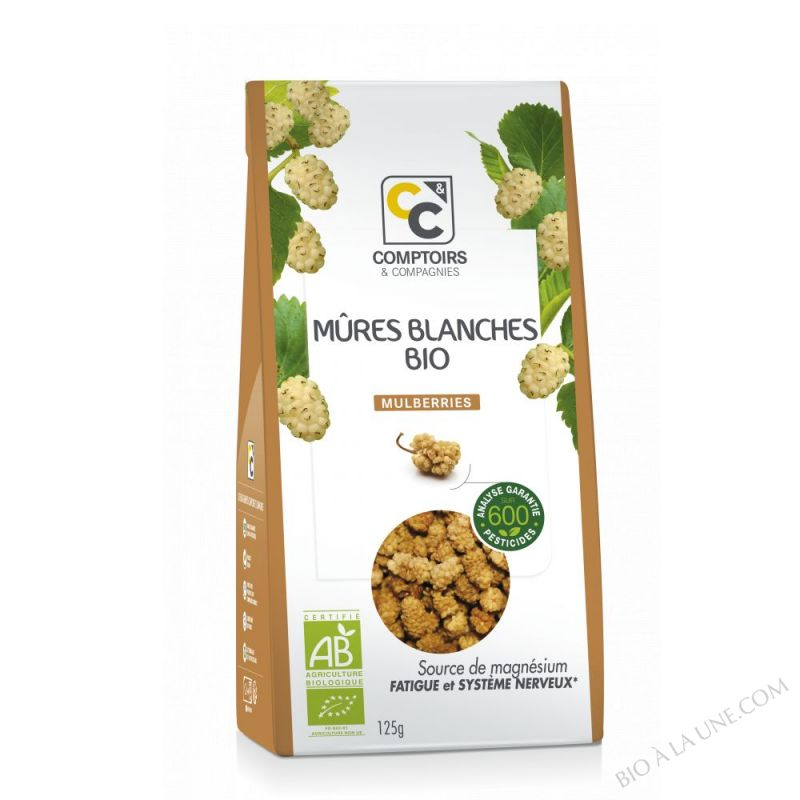 MÛRES BLANCHES (MULBERRIES) BIO 125g