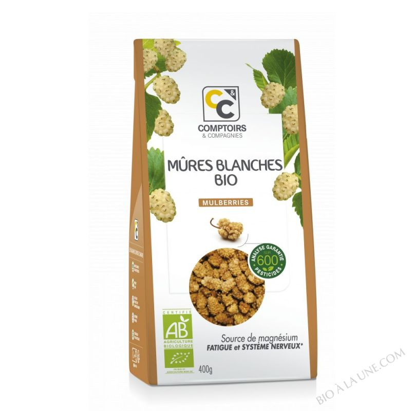 MÛRES BLANCHES (MULBERRIES) BIO 400g
