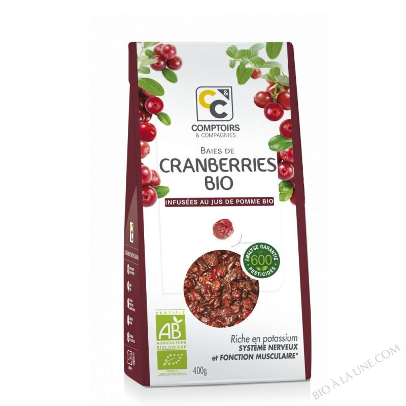 Cranberries Bio 400g