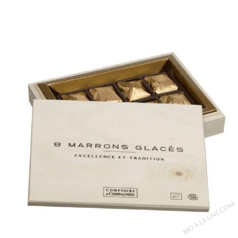 COFFRET 8 MARRONS GLACES BIO - 160g