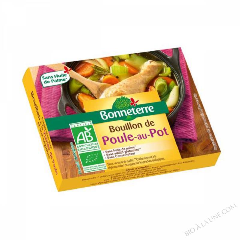 BOUILLON DE POULE AU POT (6 CUBES) - 66G