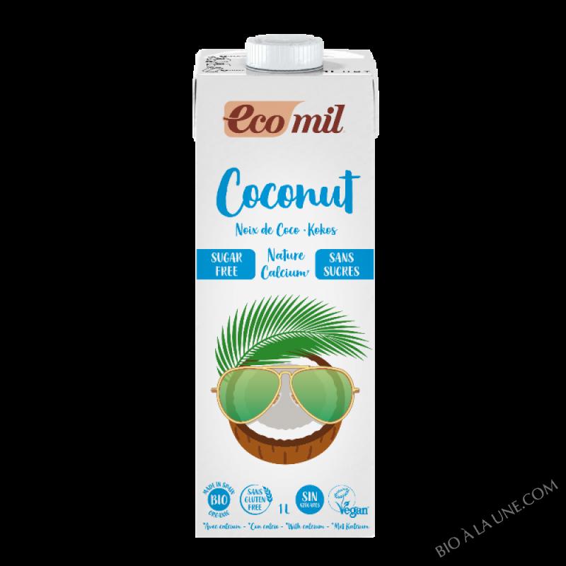 Lait de coco-calcium Nature sans sucres 1L