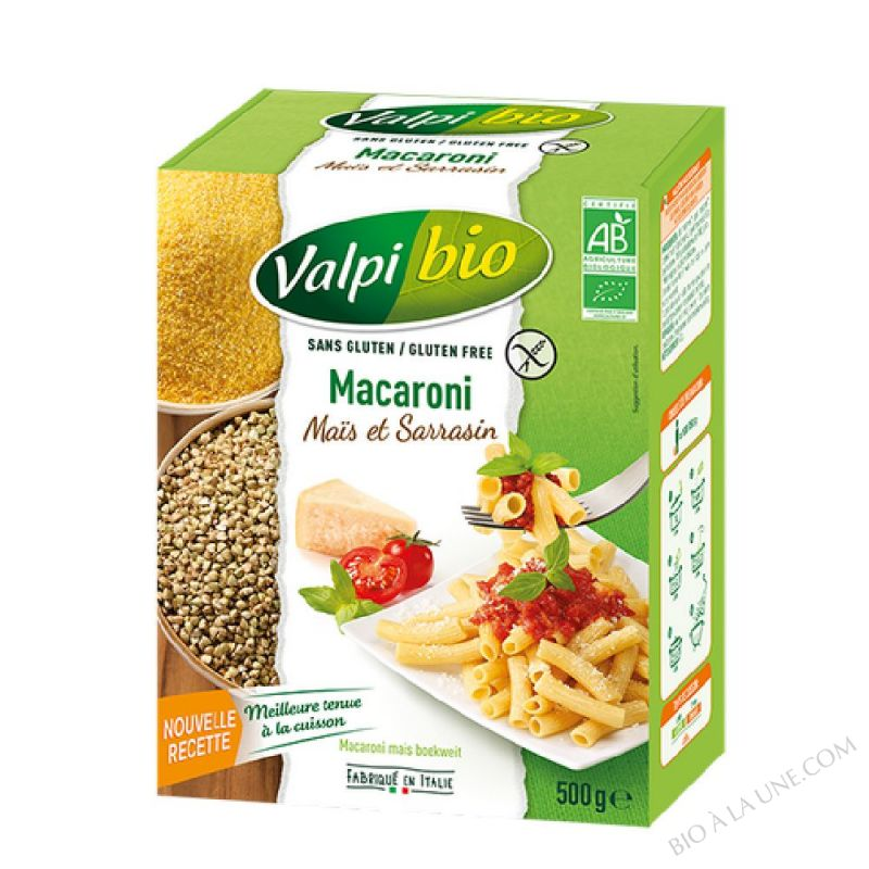Macaroni Mais Sarrasin Bio 500g