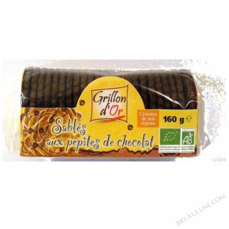 SABLES PEPITES DE CHOCOLAT 160GR