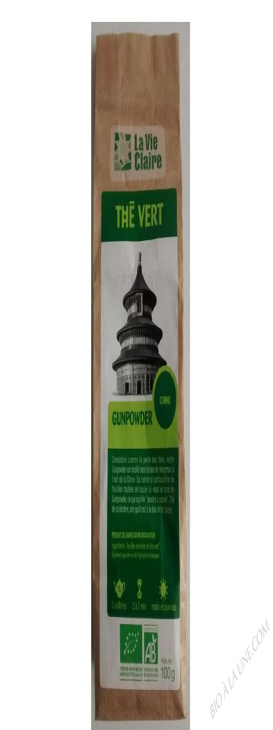 Thé vert gunpowder- 100 g