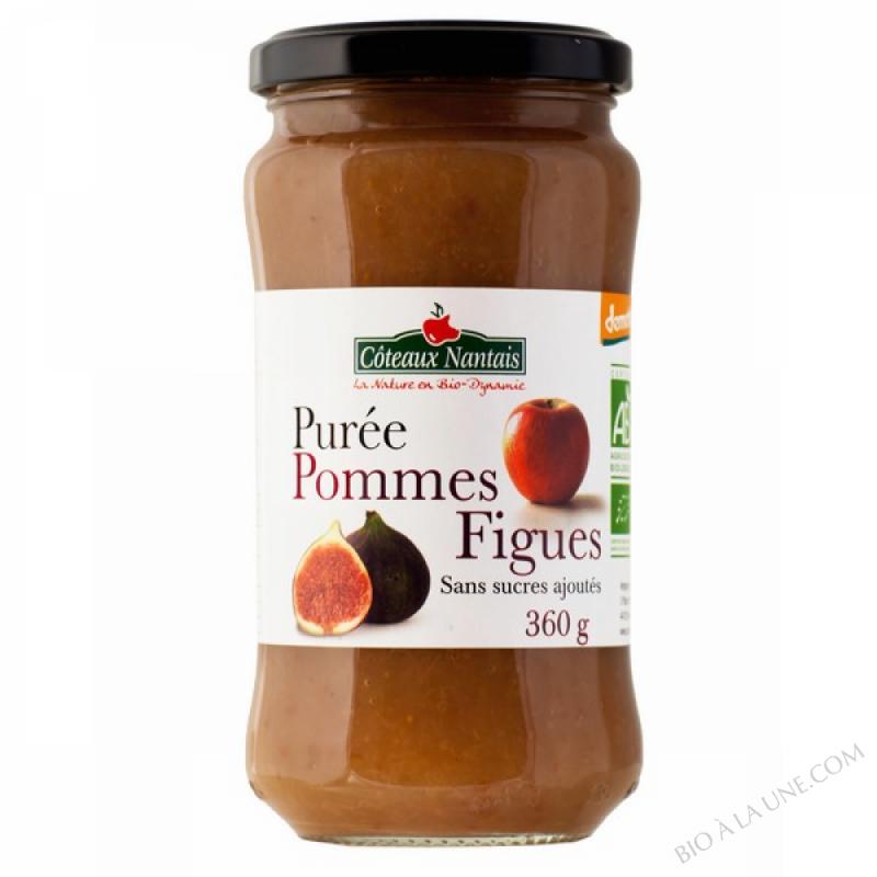 Purée pommes figues 360 g Demeter