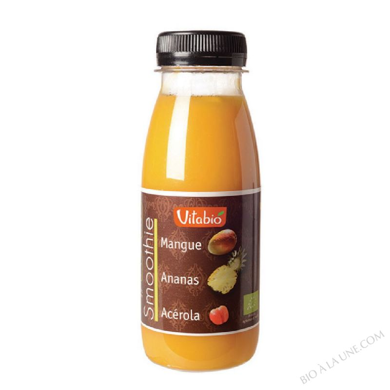 Smoothie Mangue Ananas Acerola 25cL