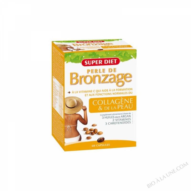 Perle de bronzage Ultratan - 60 capsules