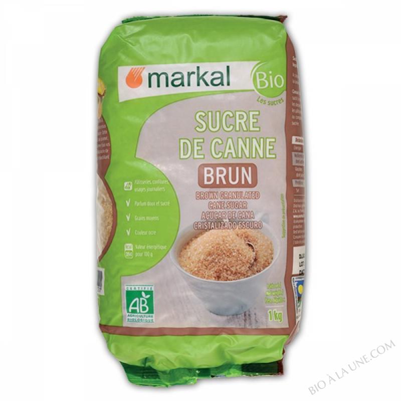 Sucre brun de canne - 1kg