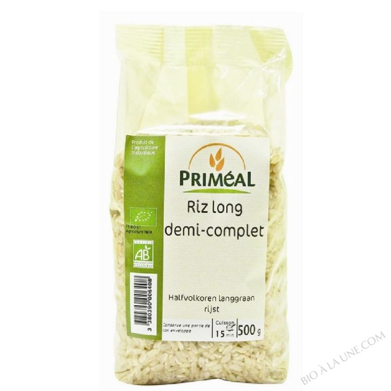 Riz Long Demi Complet 500 g