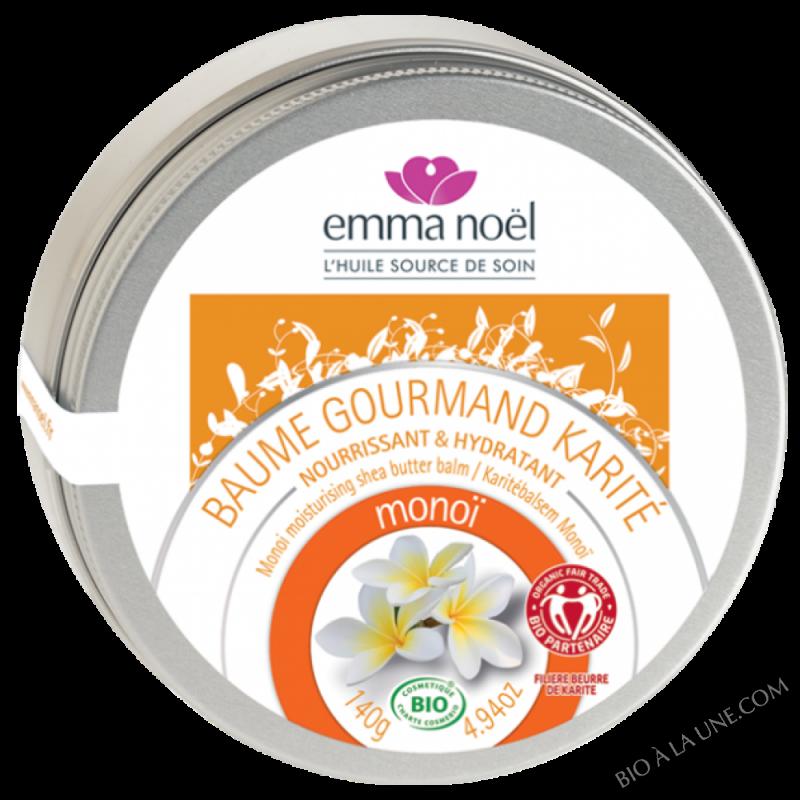 Baume Gourmand Karité Monoï bio - 140g