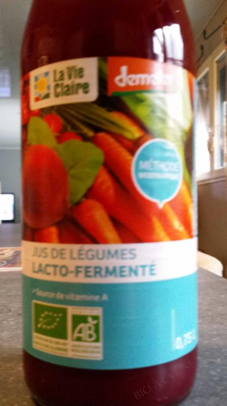 Jus de legumes lacto fermenté - 75cl