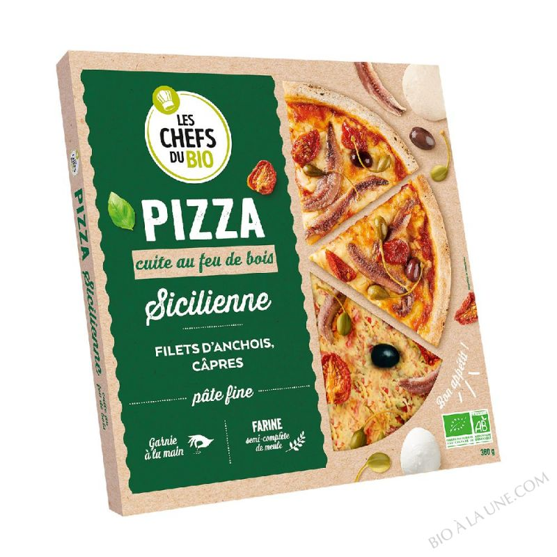 PIZZA SICILIENNE 400 G