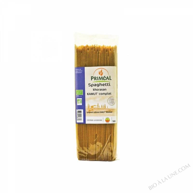 Spaghettis complets au Kamut