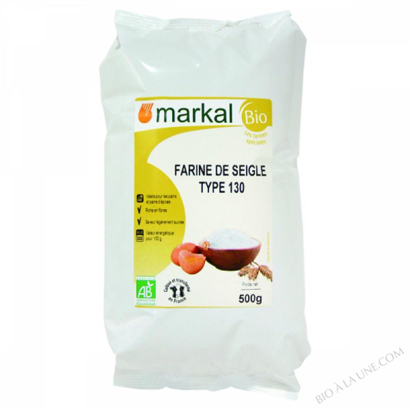 Farine de Seigle T130 500g