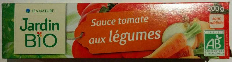 Sauce tomate aux legumes 200 g