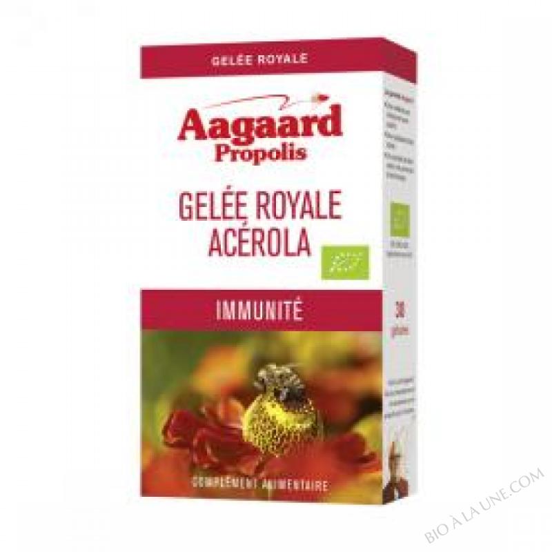 Gelée Royale Acérola Bio - 30 Gélules