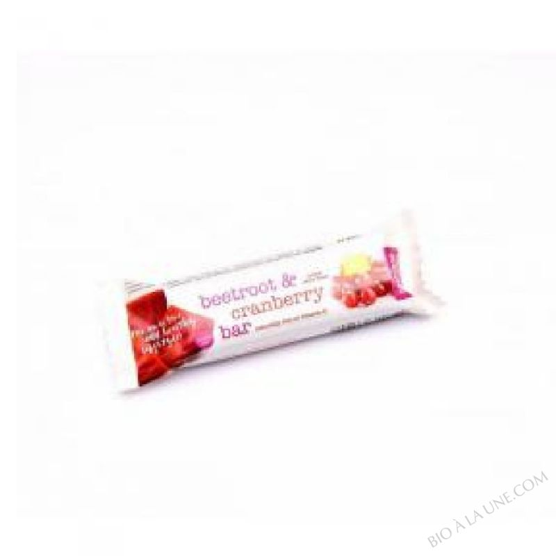 Barre Cramberries Betterave 34gr