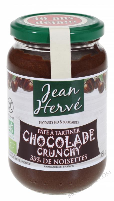 Pâte à tartiner Chocolade Crunchy bio 350g