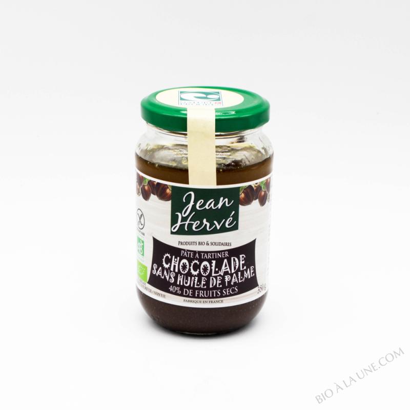 Chocolade sans huile de palme