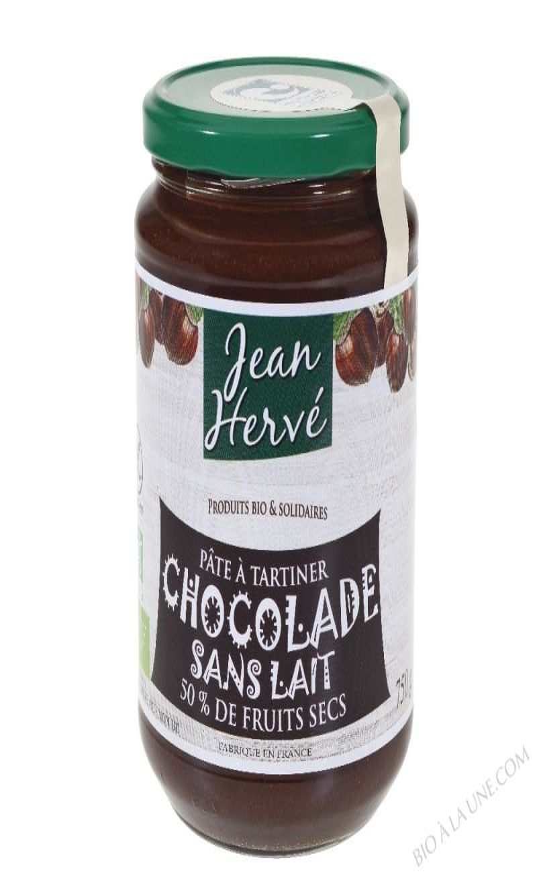 Pâte à tartiner Chocolade Sans Lait bio 750g