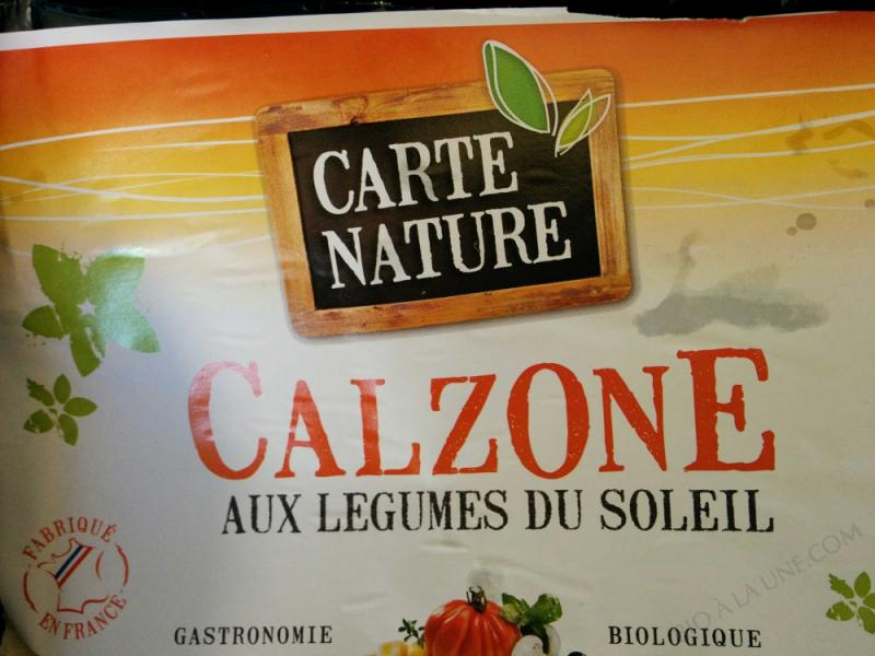 Calzone aux Légumes  - 420gr